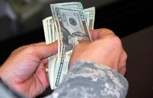 2018 military pay charts