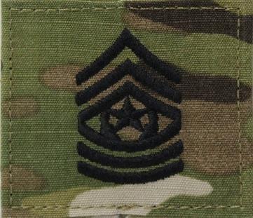 Sergeant Major Rank