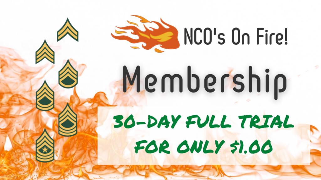 NCO's On Fire Membership